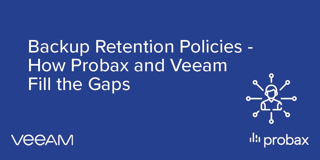 Probax Blog Post Banner - Backup Retention Policies