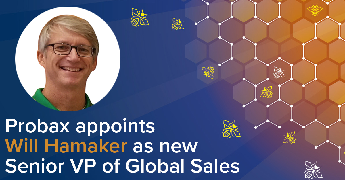 Probax strengthens Leadership Team with New SVP of Global Sales